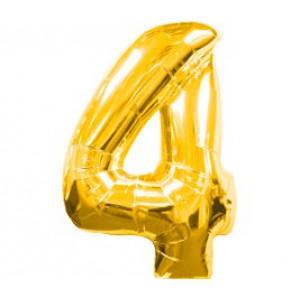 Золотая цифра 4
