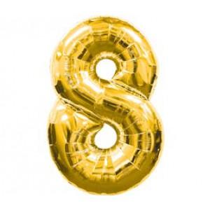 Золотая цифра 8