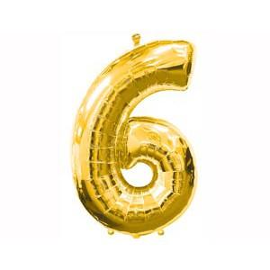Золотая цифра 6