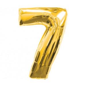 Золотая цифра 7