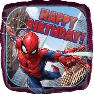 """Фольгированный шарик 18"""" для Дня рождения Человек-паук"""