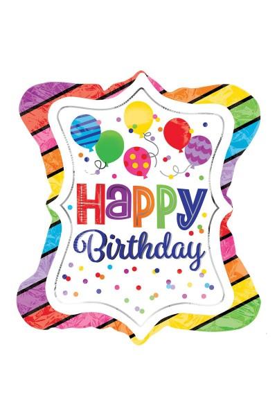 Фольгированный шарик для Дня рождения Воздушные шары