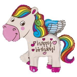 Фольгированный шарик для Дня рождения Пони