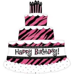 Фольгированный шарик для Дня рождения Торт для королвы