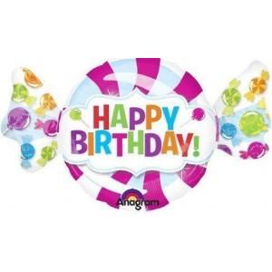 Фольгированный шарик для Дня рождения Сладкая конфетка