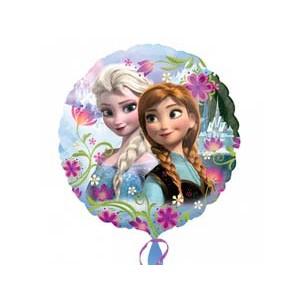 """Фольгированный шарик 18"""" (45 см) """"Фроузен Анна и Эльза"""" наполненный гелием"""