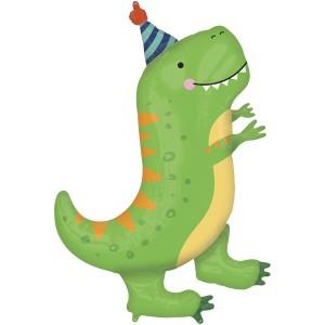 Динозавр t-rex AN фольгированный шарик