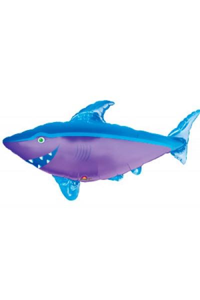 """Фольгированный шарик """"Акула AN"""""""