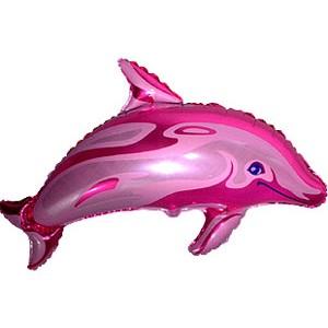 """Фольгированный шарик """"Дельфин"""""""