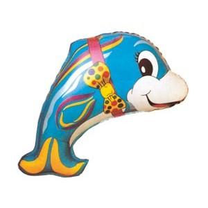 Дельфин с бантом