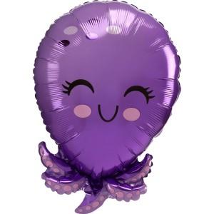 Осьминог AN фольгированный шарик