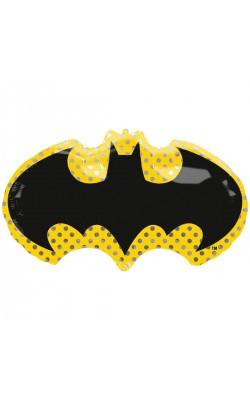 Фольгированный шарик Бэтмен эмблема
