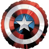 Фольгированный шарик Щит Капитана Америка