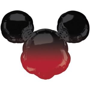 Микки Маус омбре голова фольгированный шарик