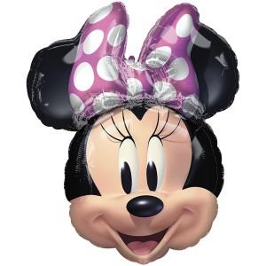 Минни Маус голова фольгированный шарик
