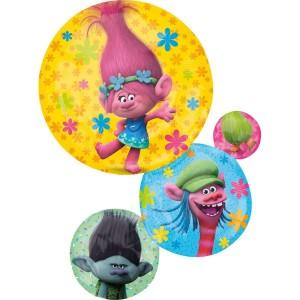 Фольгированный шарик Тролли