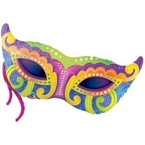 Фольгированный шарик Маскарадная маска