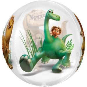 Фольгированный шарик сфера Динозавр хороший
