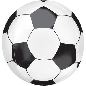 Фольгированный шарик Сфера Футбольный мяч