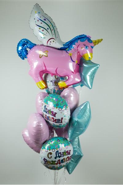 Букет шаров на день рождения №23