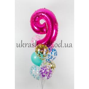 Шарики на день рождения №48