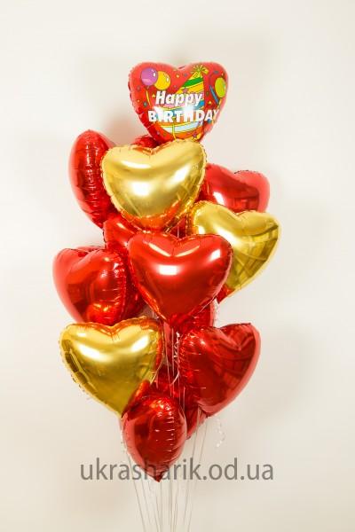 Букет шаров на день рождения №5