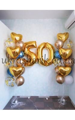 Шарики на день рождения №101