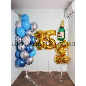 Шарики на день рождения №104