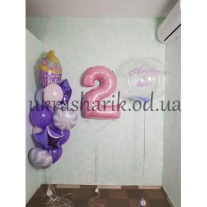 Шарики на день рождения №105