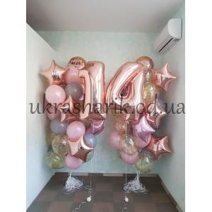 Шарики на день рождения №109