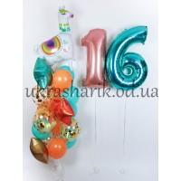 Шарики на день рождения №79