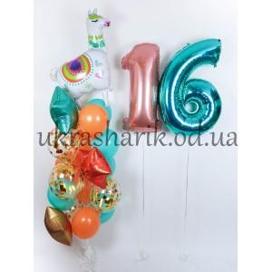 Шарики на день рождения №10