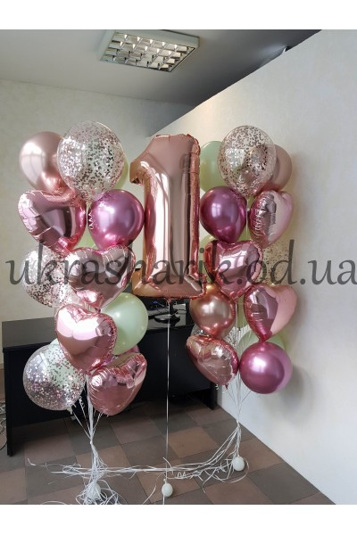 Шарики на день рождения №1