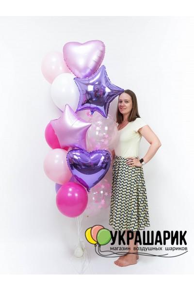 Букет шаров на каждый день №101