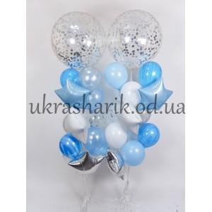 Букет шаров на каждый день №124