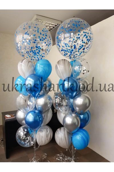 Букет шаров на каждый день №128