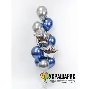 Букет шаров на каждый день №109