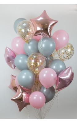 Букет шаров на каждый день №10