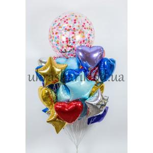 Букеты из шаров для встречи из роддома