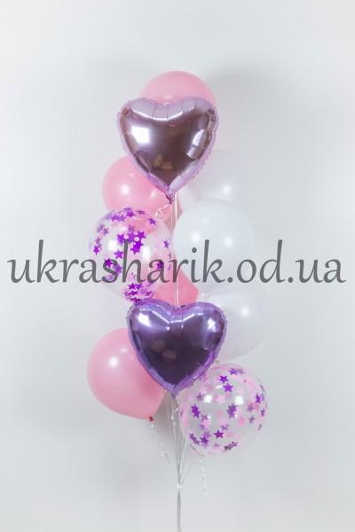 Букет шаров на каждый день №108