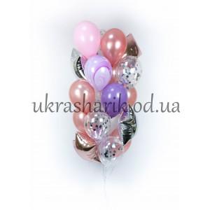 Букет шаров на каждый день №114