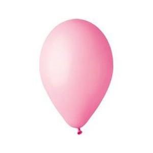 """Шар наполненный гелием розовый 10"""" (26 см)"""