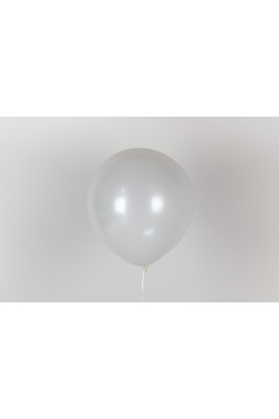 "Гелиевый белый шар 12"" (32 см)"