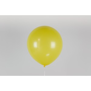 """Гелиевый шар желтый 12"""" (30 см)"""
