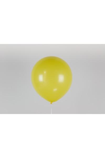 """Желтый гелиевый шар 12"""" (30 см)"""