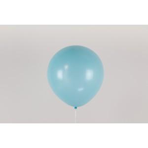 """Гелиевый шар голубой 12"""" (30 см)"""