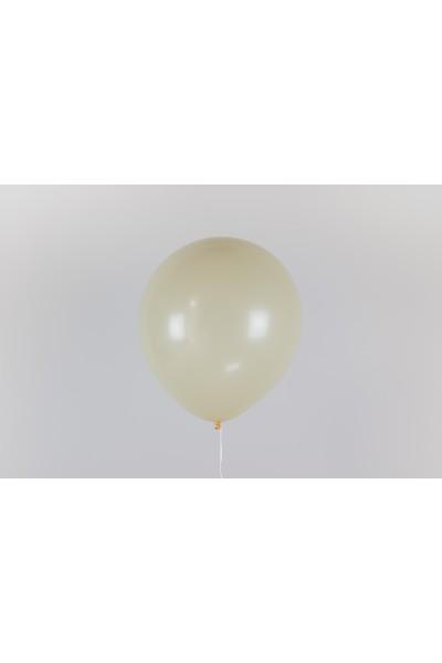 """Гелиевый шар цвета айвори 12"""" (32 см)"""