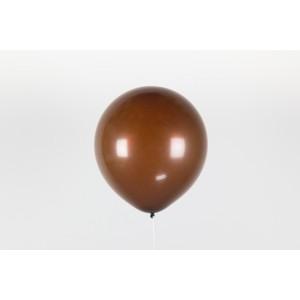 """Гелиевый шар коричневый 12"""" (30 см)"""