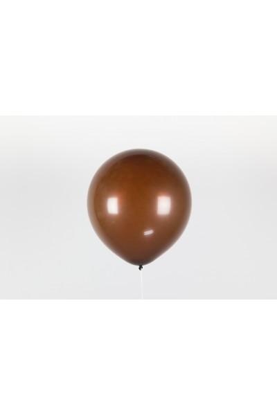 """Коричневый гелиевый шар 12"""" (30 см)"""