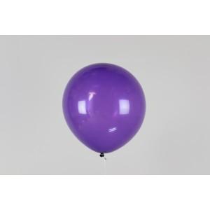 """Шар наполненный гелием темно-фиолетовый 12"""" (30 см)"""